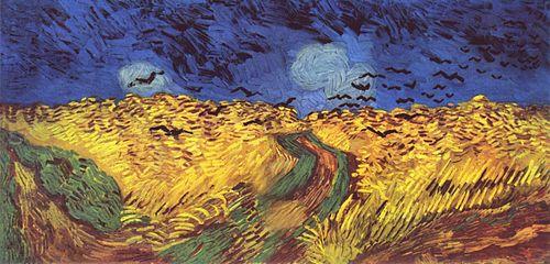 Vincent van Gogh (El camp de blat.- 1890)